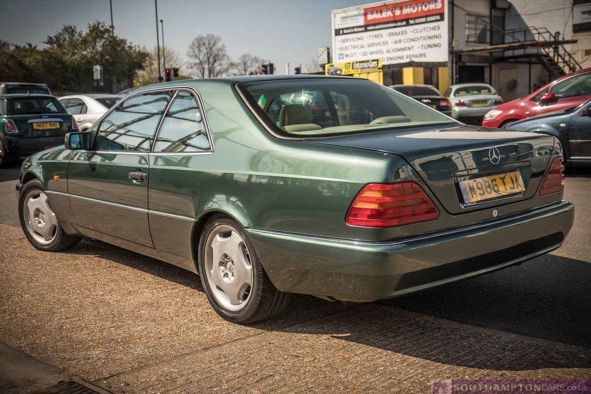 1995 Mercedes-Benz S500 5.0 V8 c140 [315] (cl500 w140) For Sale (picture 5 of 6)