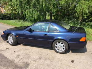 1995 Mercedes SL320 convertible, 68k, FSH, superb For Sale