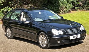 2007 Mercedes C180 Elegance Estate  May Px