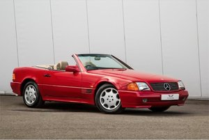 1991 Mercedes 300 SL-24 valve Convertible- 44724 Miles Only For Sale