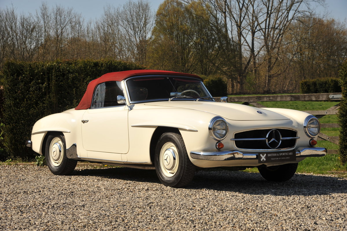 Mercedes-Benz 190SL Roadster (1961) For Sale (picture 1 of 6)