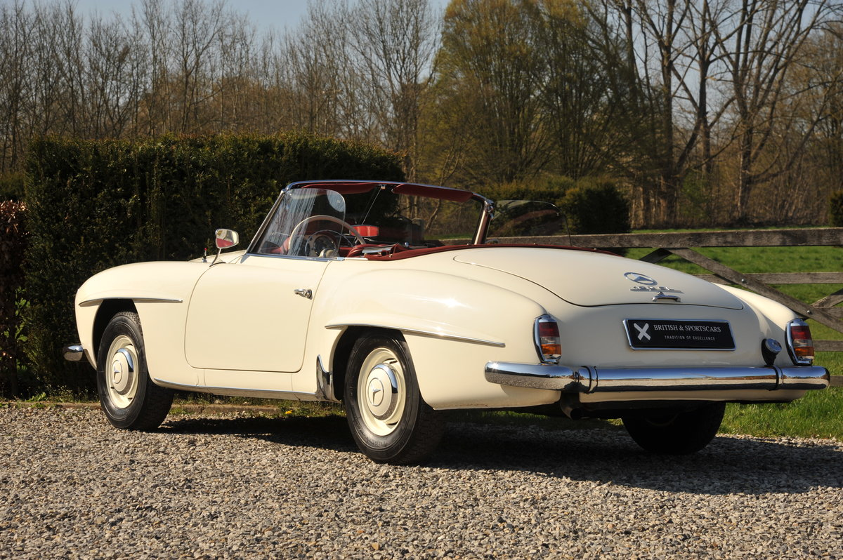 Mercedes-Benz 190SL Roadster (1961) For Sale (picture 3 of 6)