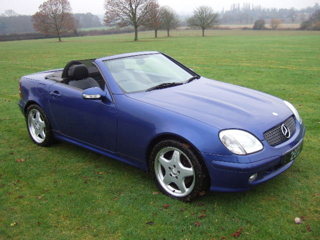 2000 Mercedes SLK320 V6 Convertible only 42000 miles For Sale (picture 1 of 6)