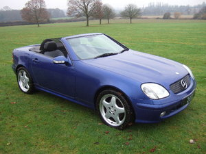 2000 Mercedes SLK320 V6 Convertible only 42000 miles For Sale