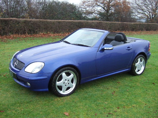 2000 Mercedes SLK320 V6 Convertible only 42000 miles For Sale (picture 2 of 6)