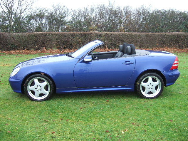 2000 Mercedes SLK320 V6 Convertible only 42000 miles For Sale (picture 3 of 6)