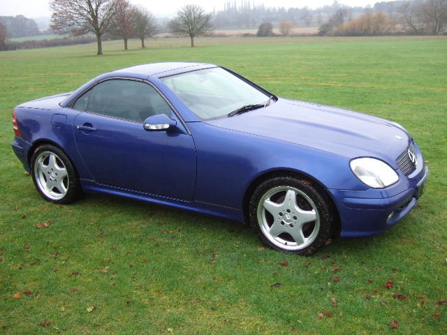 2000 Mercedes SLK320 V6 Convertible only 42000 miles For Sale (picture 5 of 6)