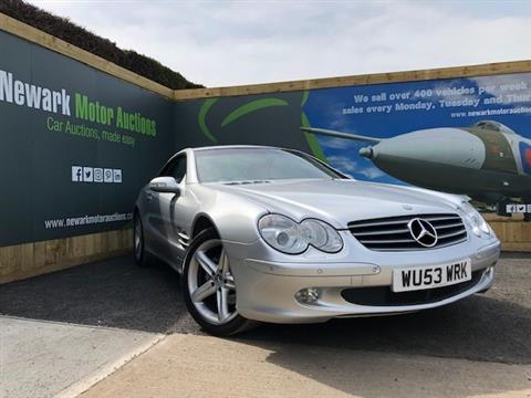 2003 Very Clean Sl350 Part Ex At Aston Garage For Sale By Auction