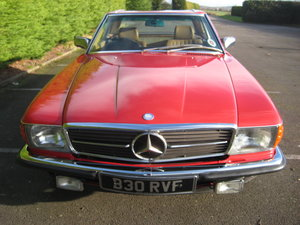 MERCEDES BENZ 280SL 1984- 6 OWNERS FROM NEW For Sale