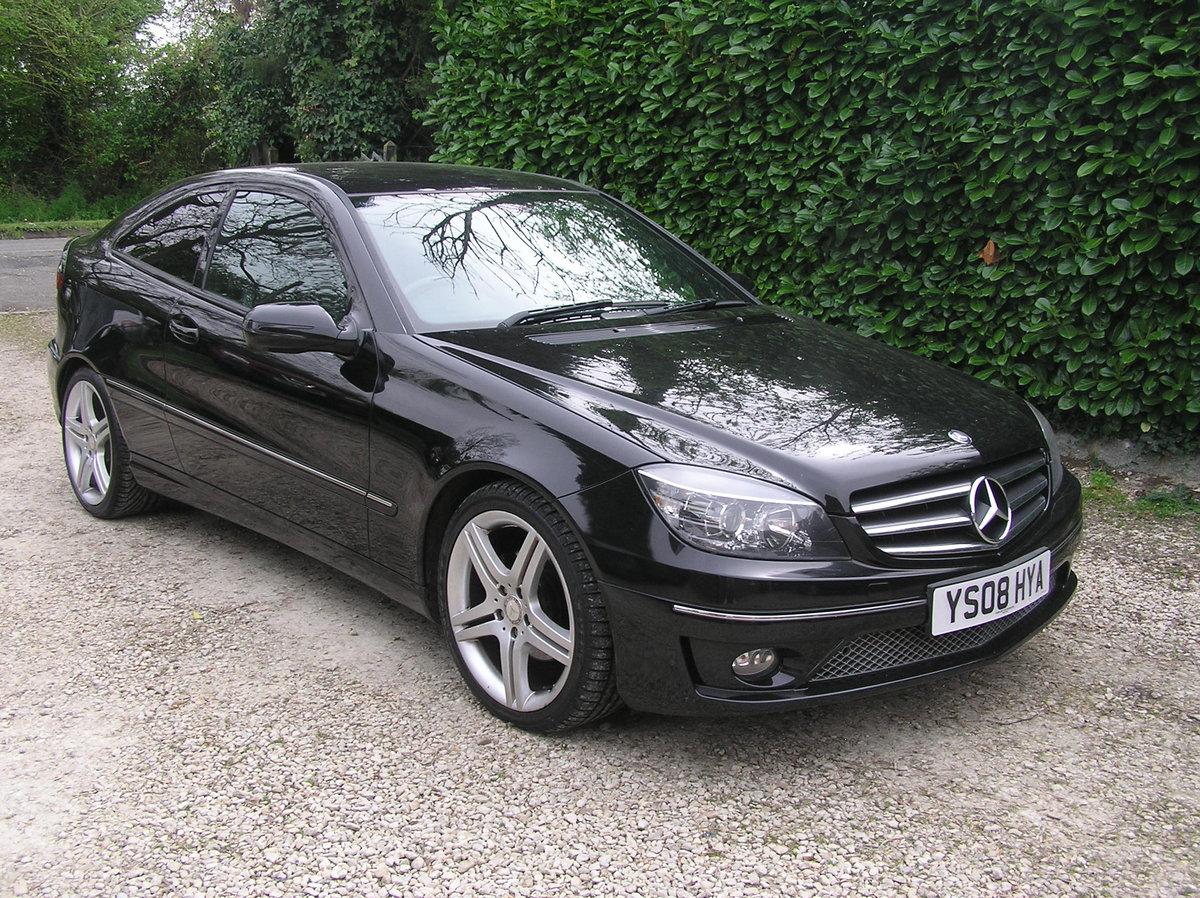 2008 Mercedes Benz Clc 220cdi Sport Edt Coupe Auto For Sale Car