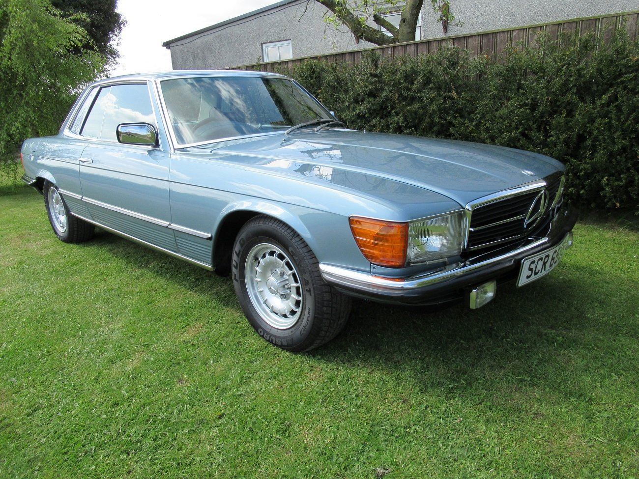 1977 MERCEDES 450 SLC  C107 50,000 Miles only. For Sale (picture 1 of 6)