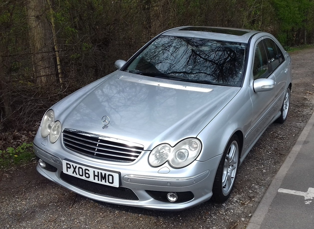 2006 Mercedes-Benz C55 AMG 4dr Full Spec For Sale (picture 1 of 5)