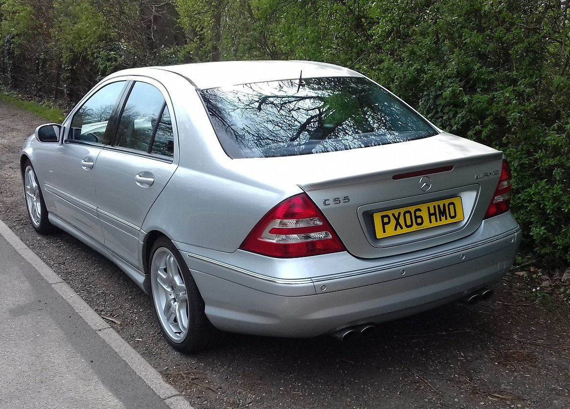 2006 Mercedes-Benz C55 AMG 4dr Full Spec For Sale (picture 2 of 5)