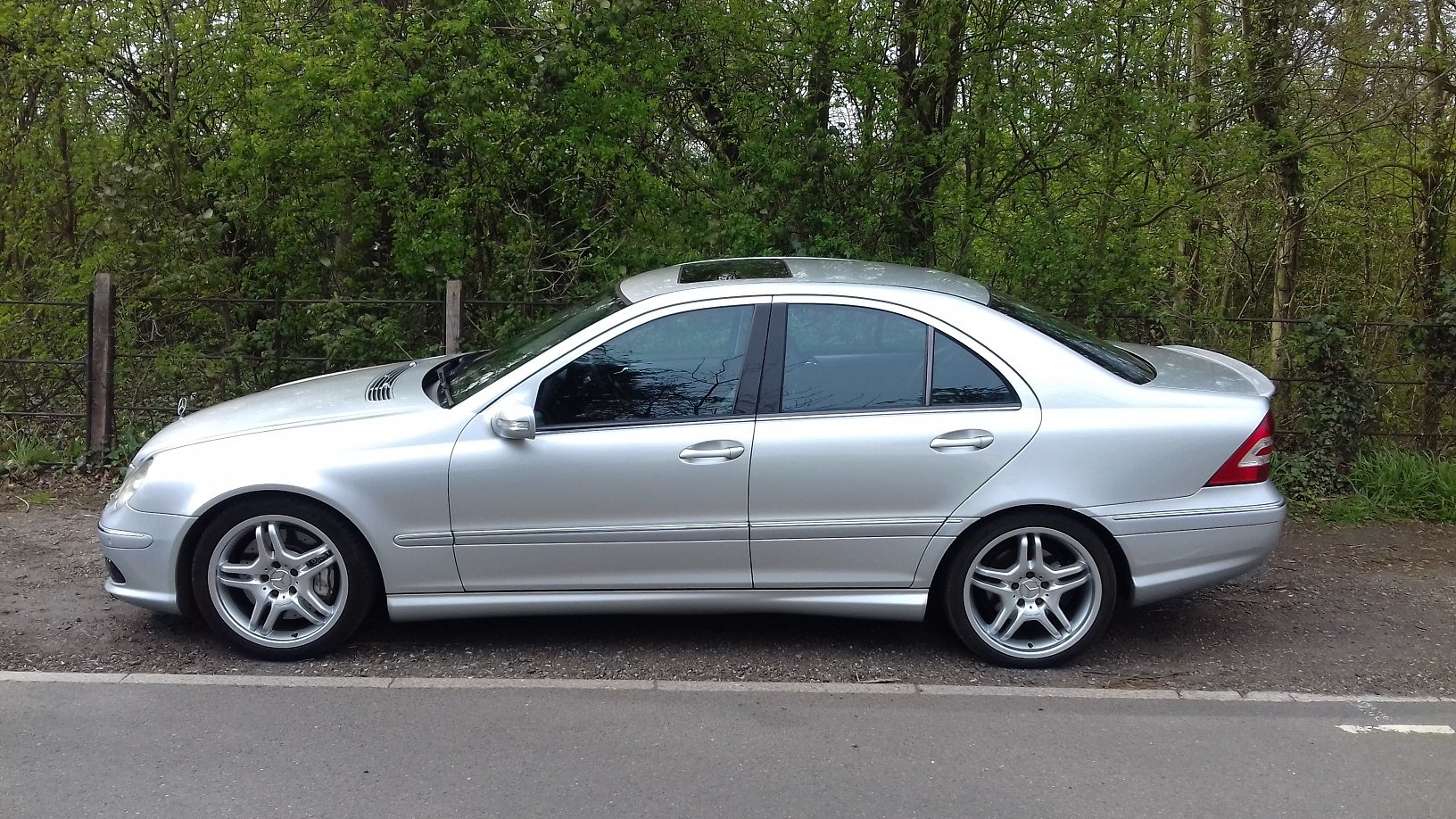 2006 Mercedes-Benz C55 AMG 4dr Full Spec For Sale (picture 3 of 5)