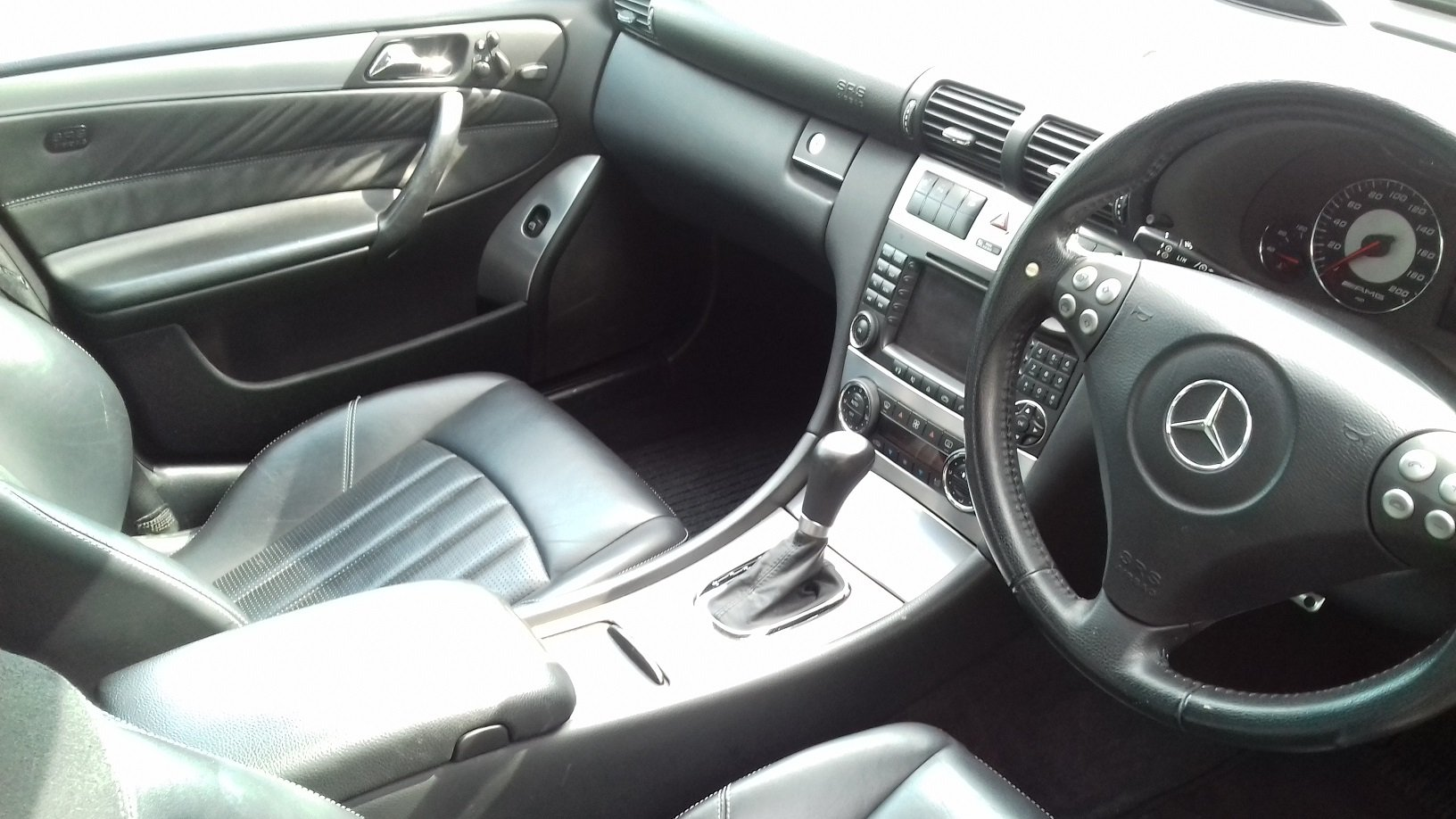 2006 Mercedes-Benz C55 AMG 4dr Full Spec For Sale (picture 4 of 5)