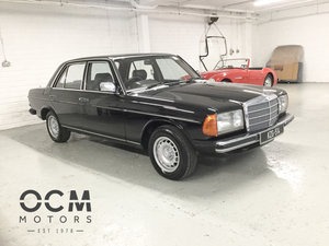 1983 Mercedes-Benz 230E Original Irish Car For Sale