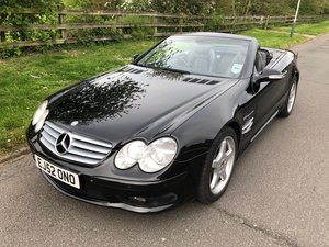 2002 MERCEDES SL 55 AMG AUTOMATIC 72000 MILES For Sale