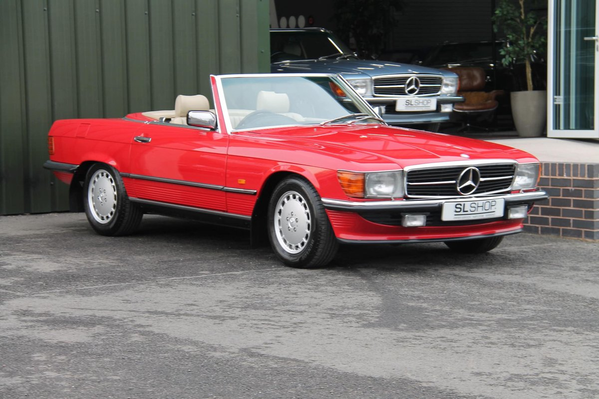 1989 Mercedes-Benz 300SL (R107) #2078 For Sale (picture 1 of 6)