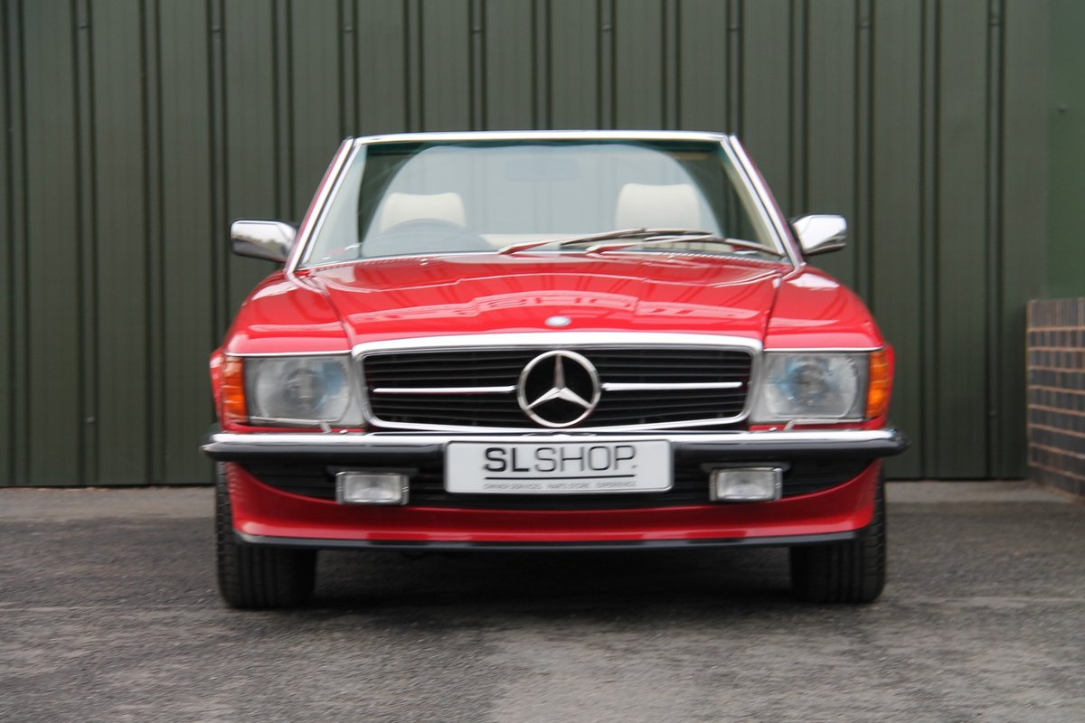 1989 Mercedes-Benz 300SL (R107) #2078 For Sale (picture 2 of 6)