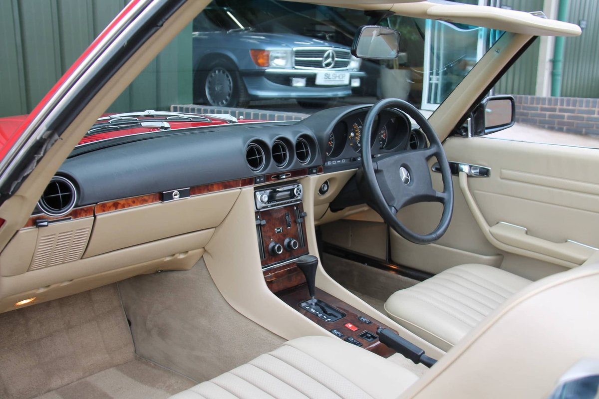 1989 Mercedes-Benz 300SL (R107) #2078 For Sale (picture 3 of 6)