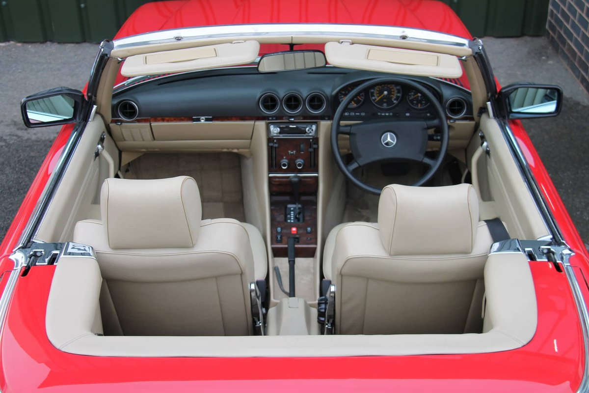 1989 Mercedes-Benz 300SL (R107) #2078 For Sale (picture 5 of 6)