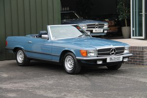 Picture of 1983 Mercedes-Benz 280SL (R107) #2106 19k Miles 5 Speed Manual For Sale