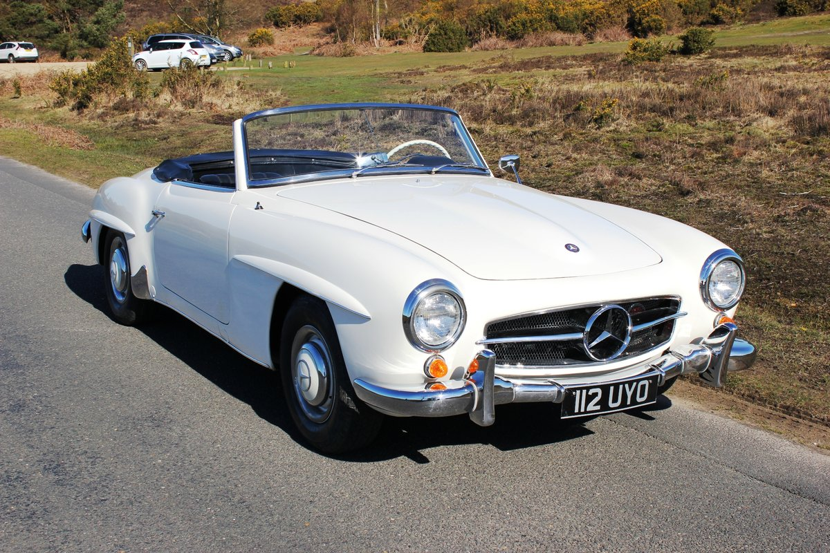 Mercedes 190SL 1961 Superb Car With Hard Top For Sale (picture 1 of 6)