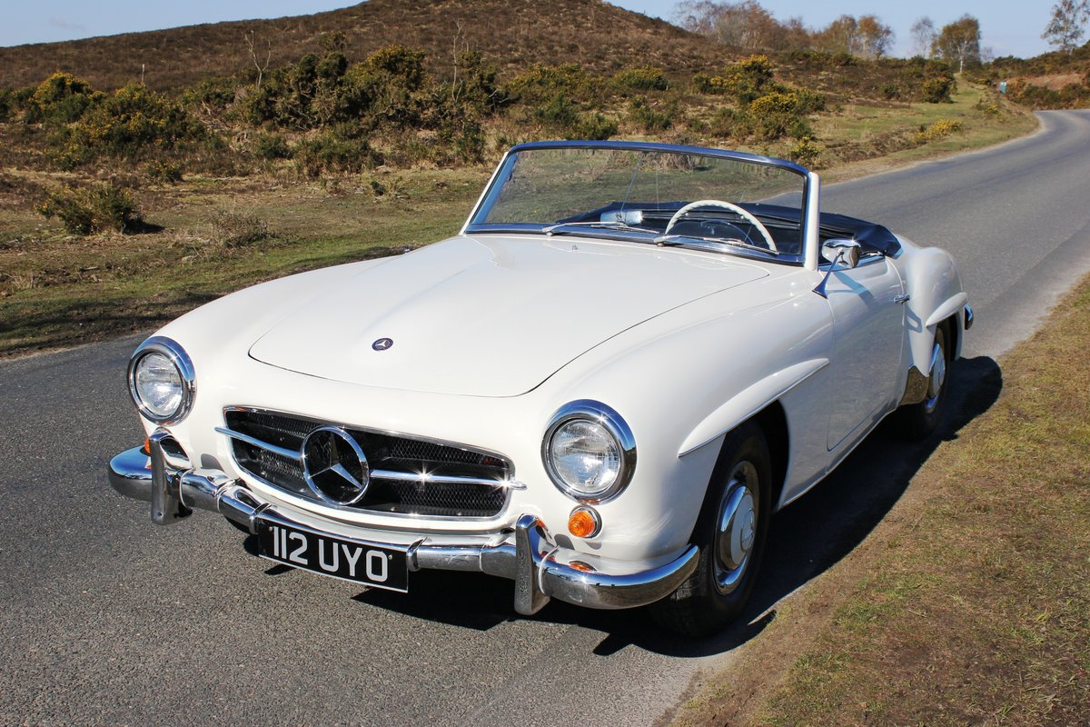 Mercedes 190SL 1961 Superb Car With Hard Top For Sale (picture 2 of 6)