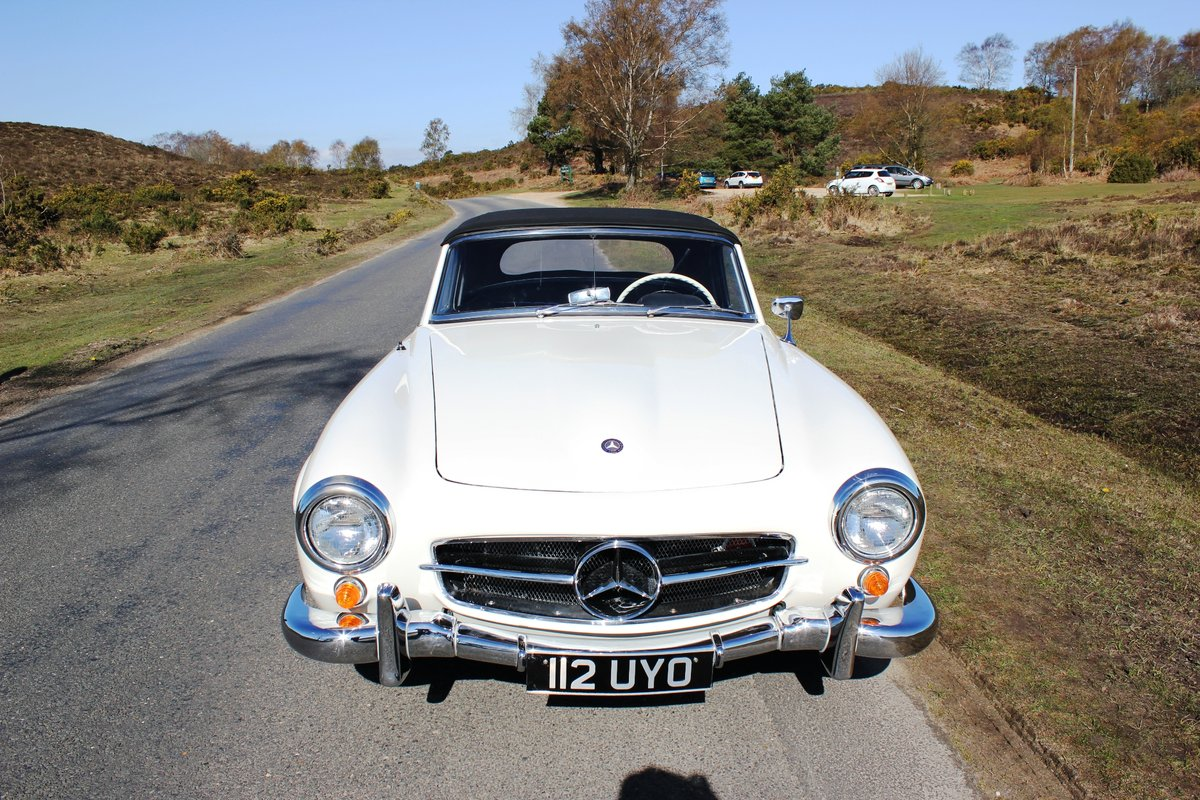Mercedes 190SL 1961 Superb Car With Hard Top For Sale (picture 4 of 6)