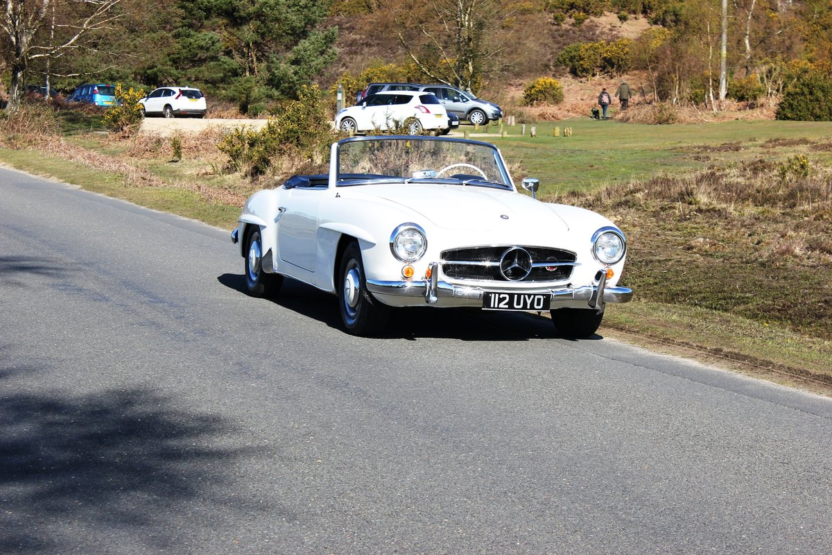 Mercedes 190SL 1961 Superb Car With Hard Top For Sale (picture 6 of 6)