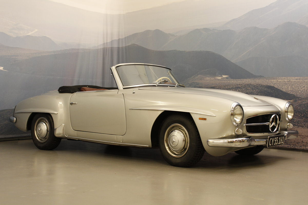 1959 Mercedes-Benz 190 SL Convertible For Sale (picture 1 of 6)
