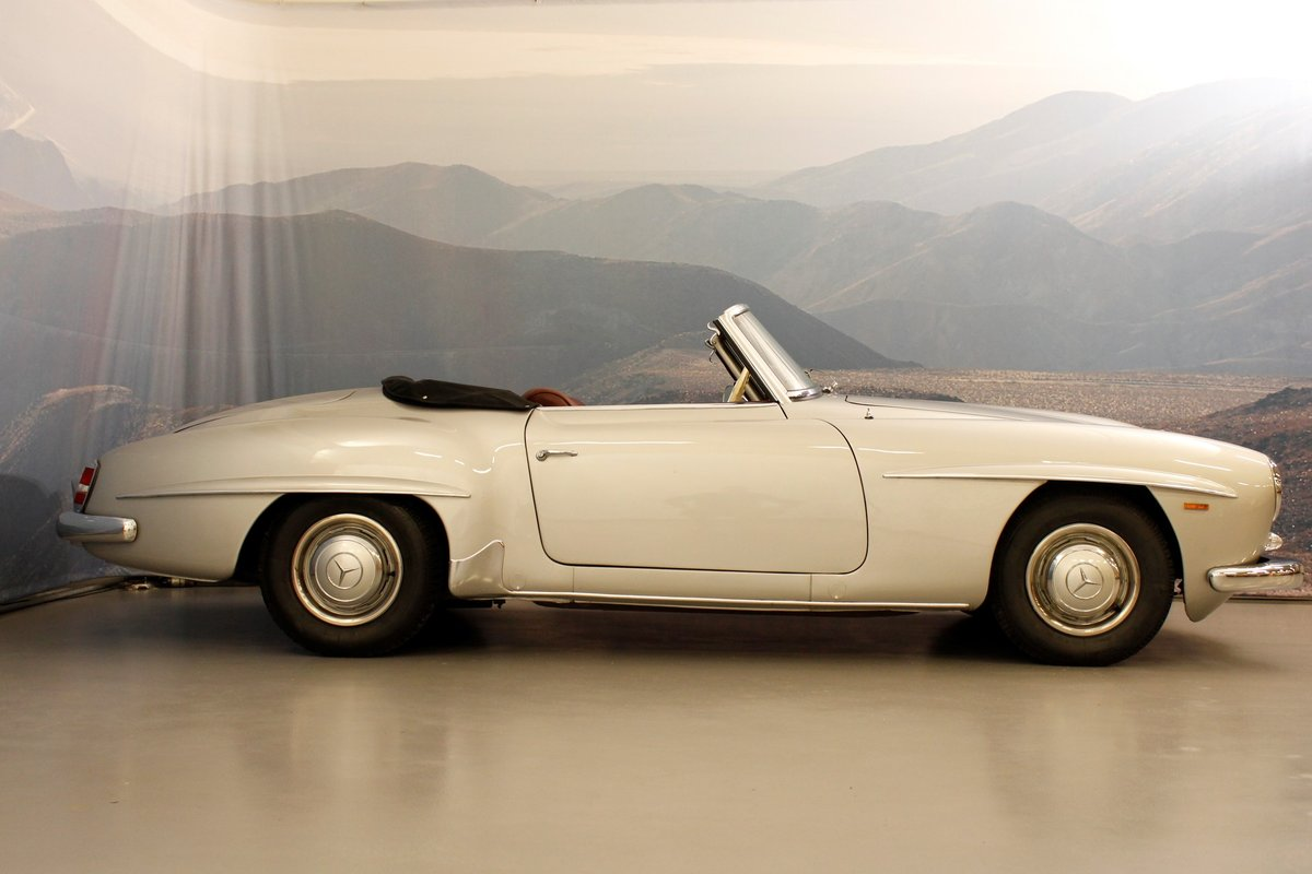 1959 Mercedes-Benz 190 SL Convertible For Sale (picture 3 of 6)