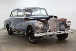 1959 Mercedes-Benz 300D Adenauer For Sale