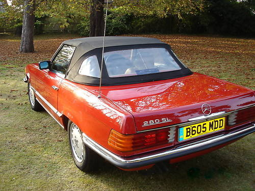 Mercedes Benz 280SL 1984 (R107) SOLD (picture 2 of 6)