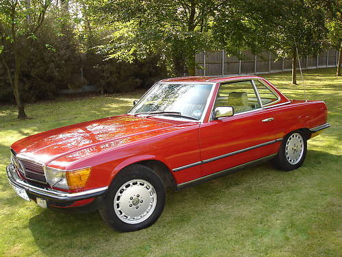 Mercedes Benz 280SL 1984 (R107) SOLD (picture 6 of 6)
