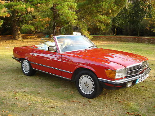 Mercedes Benz 280SL 1984 (R107) SOLD (picture 1 of 6)
