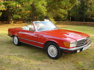 Mercedes Benz 280SL 1984 (R107) For Sale
