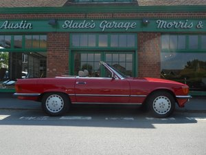 1986 Mercedes-Benz SL420  For Sale