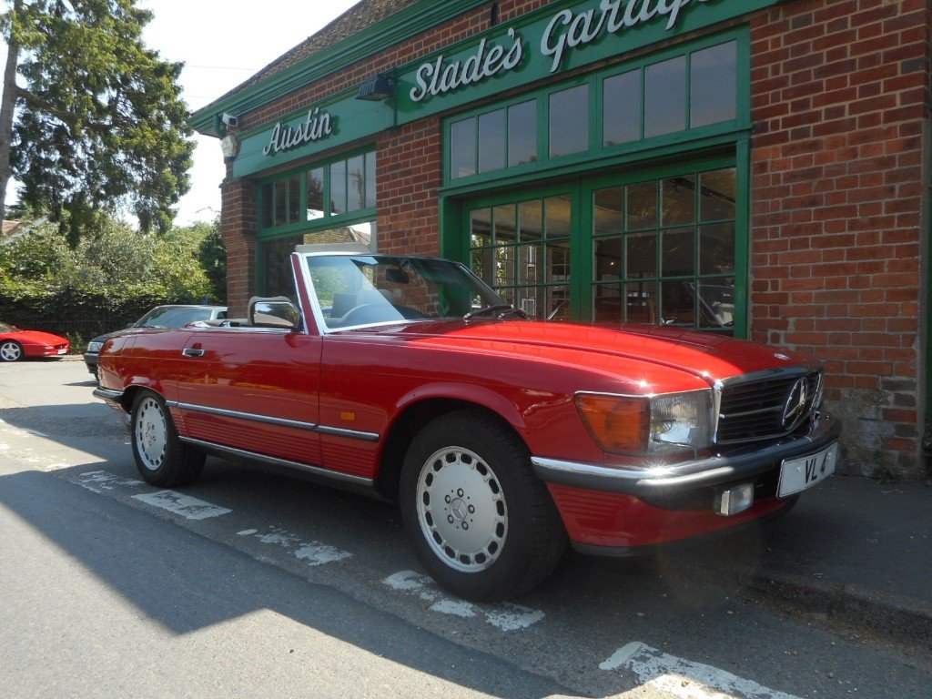 1986 Mercedes-Benz SL420  SOLD (picture 2 of 4)