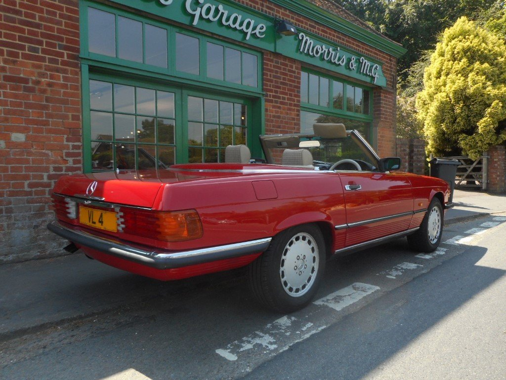 1986 Mercedes-Benz SL420  For Sale (picture 3 of 4)