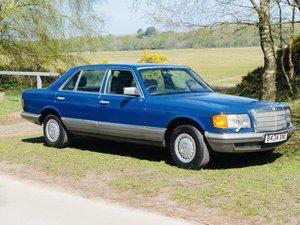 1985 Mercedes 500SEL 64K Miles For Sale