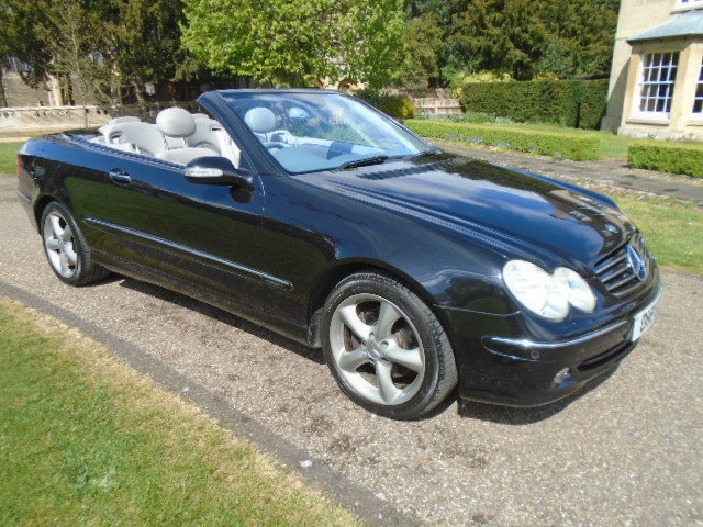2005 Mercedes CLK320 Avantgarde Auto.  For Sale (picture 1 of 6)