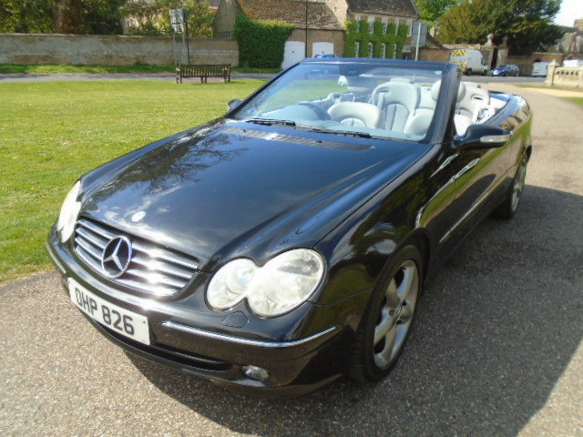 2005 Mercedes CLK320 Avantgarde Auto.  For Sale (picture 2 of 6)
