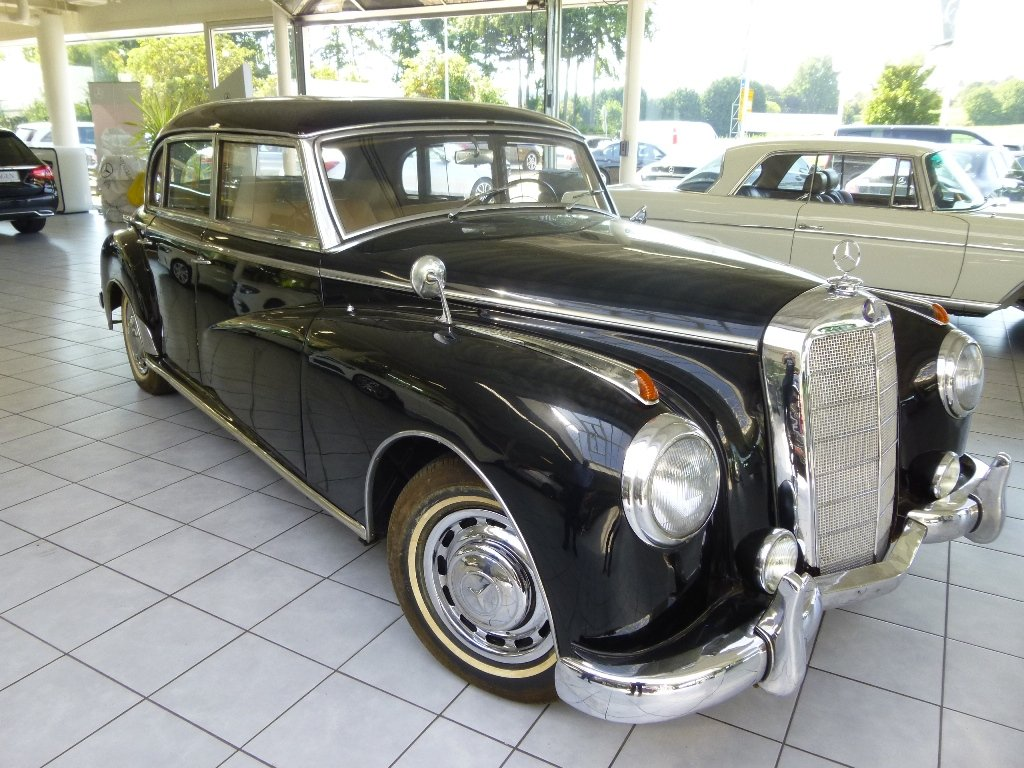 1954 Mercedes 300a Adenauer of King Idris father, original invoic SOLD (picture 2 of 6)