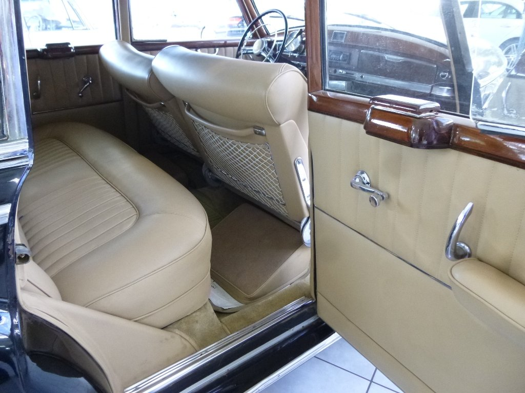 1954 Mercedes 300a Adenauer of King Idris father, original invoic For Sale (picture 5 of 6)