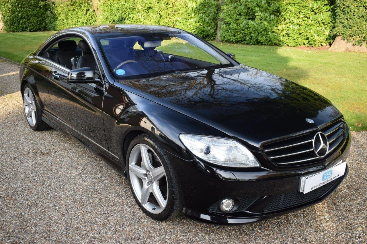 2009 Mercedes CL500 AMG 5.5i V8 Coupe 7G Automatic SOLD (picture 1 of 6)