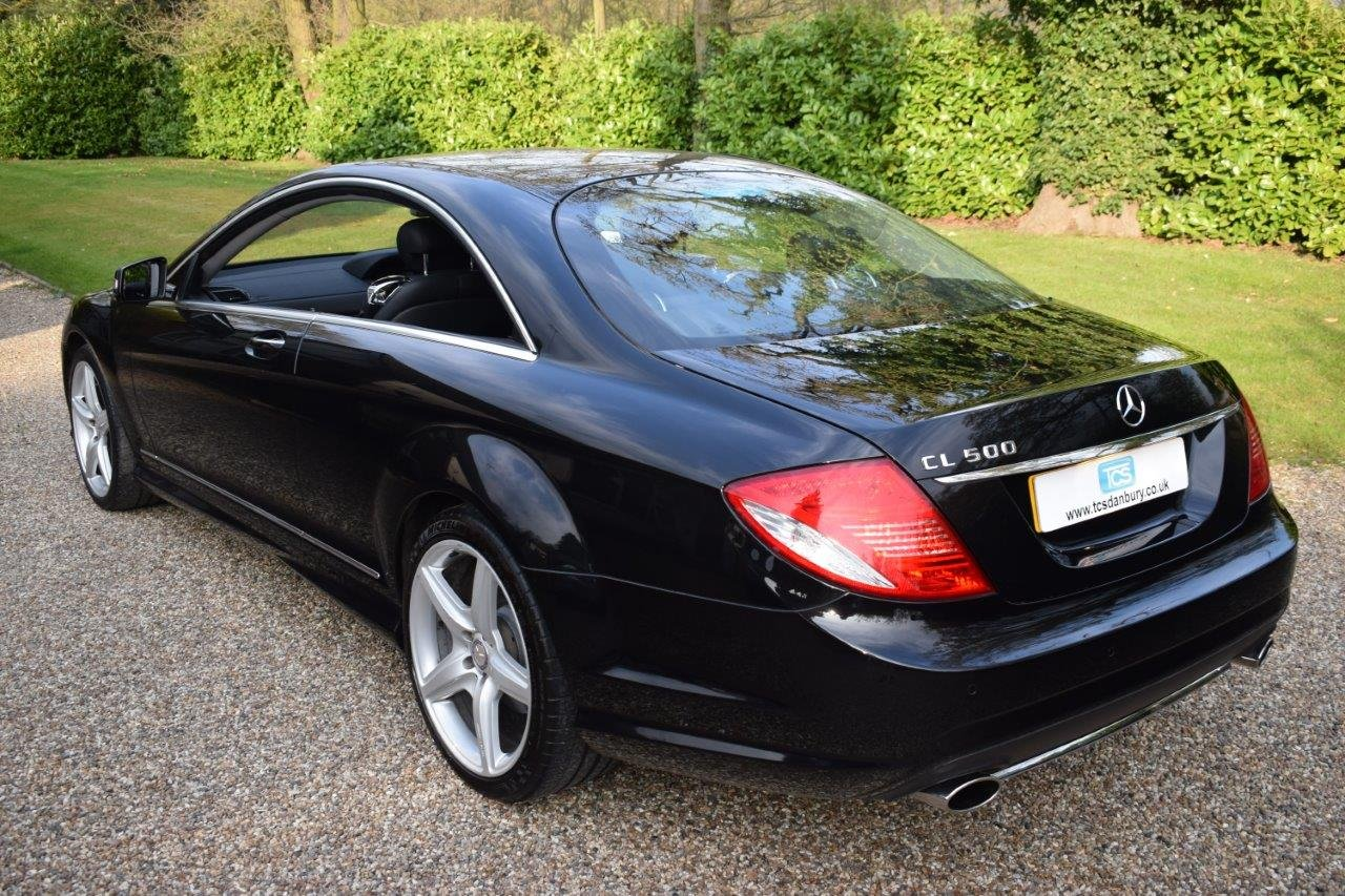 2009 Mercedes CL500 AMG 5.5i V8 Coupe 7G Automatic SOLD (picture 2 of 6)