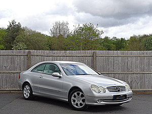 2002 Mercedes-Benz CLK 240 Elegance Coupe, Full Service History For Sale