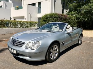 MERCEDES SL500 V8 2003 ONLY 58,000 miles FSH For Sale