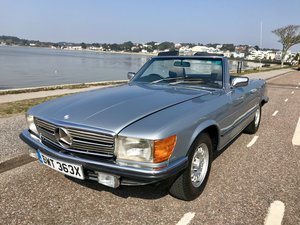 MERCEDES BENZ 280 SL - 1982 ONLY 74,000 miles FSH. For Sale